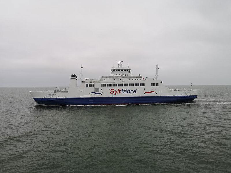 Zweite Sylt-Fähre hat den Betrieb aufgenommen - Dänemark Tipps