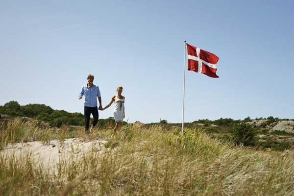 Die dänische Flagge feiert 800. Geburtstag