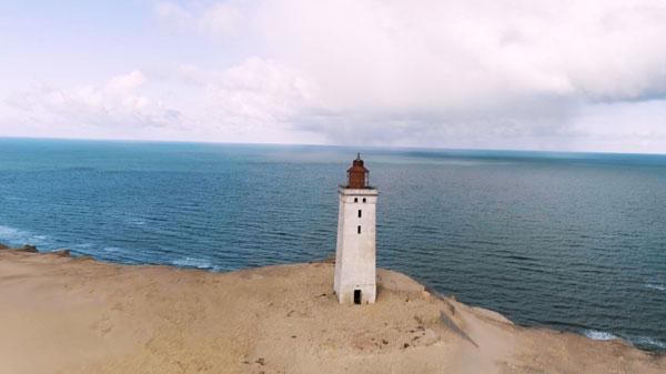 Video zum Umzug des Leuchtturms Rubjerg Knude Fyr im Norden Dänemarks