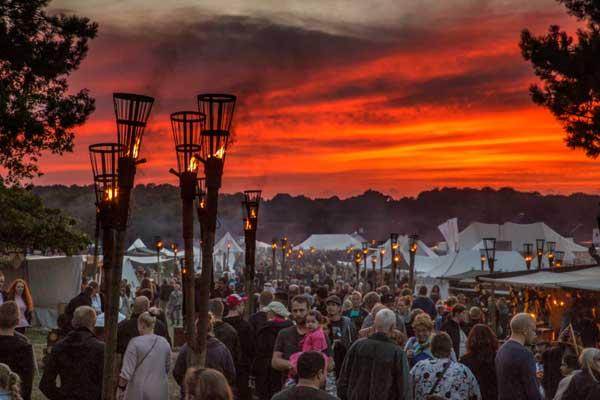 Großes Europäisches Mittelalterfestival in Jütland