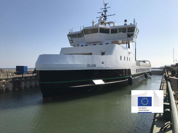 Dänemarks erste reine Elektrofähre verbindet Ærø mit Als im südfünischen Inselmeer