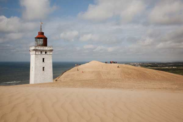 Mit dem Traktor zu Dänemarks spektakulärstem Leuchtturm
