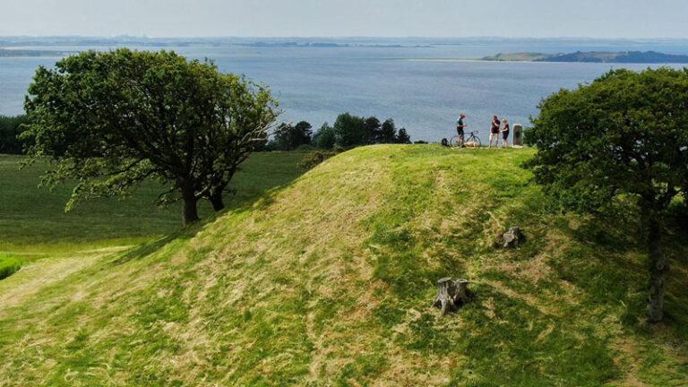 """Neue Fahrradroute """"Istidsruten"""" auf Seeland"""