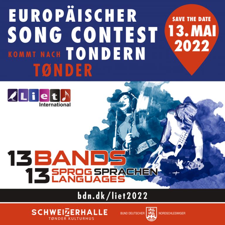 Europäischer Song Contest für Minderheitensprachen LIET International in Tonder
